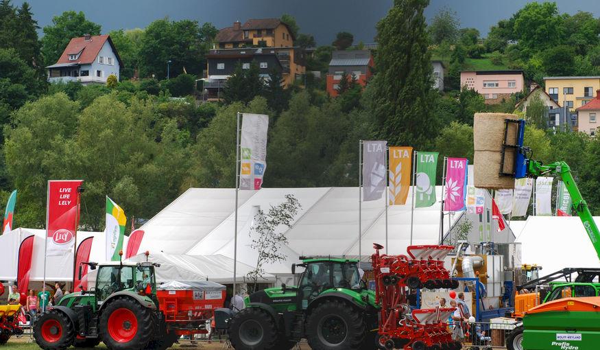 Losberger De Boer brengt Luxemburgse landbouwbeurs onder dak