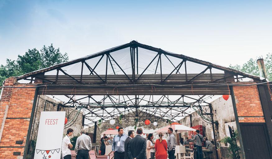 Dazzle Events zorgt voor creatieve invulling Voka Open Bedrijvendag